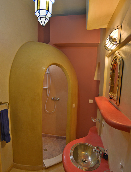 Tadelakt Salle De Bain Sur Carrelage : Riad Aicha Marrakech :: Guest House, B&B, Maison d'hôtes à Marrakech …